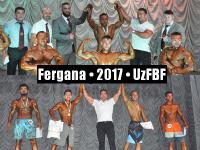 Открытый Чемпионат Ферганской области по Бодибилдингу 2017. Результаты.